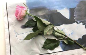 しおれた花の復活手順